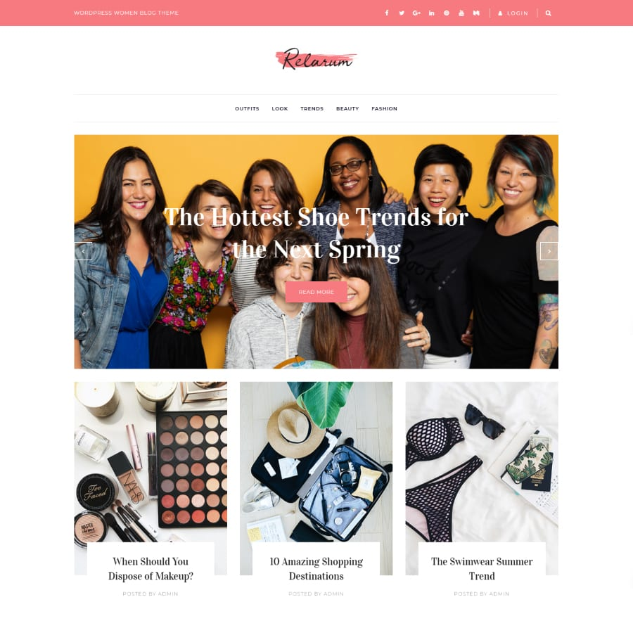 12+ Best Feminine WordPress Themes to Raise Women's Voice