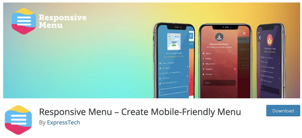 Responsive Menu – Create Mobile-Friendly Menu