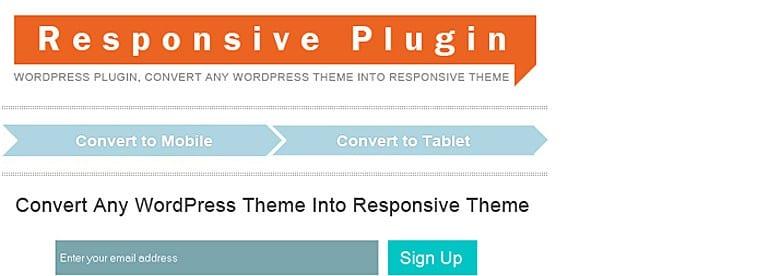 Responsive Plugin – WordPress Plugin For Responsive Design