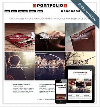 responsive-portfolio-theme