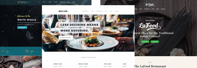 15+ Best WordPress Restaurant & Food Themes 2019