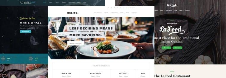 15+ Best WordPress Restaurant & Food Themes 2020