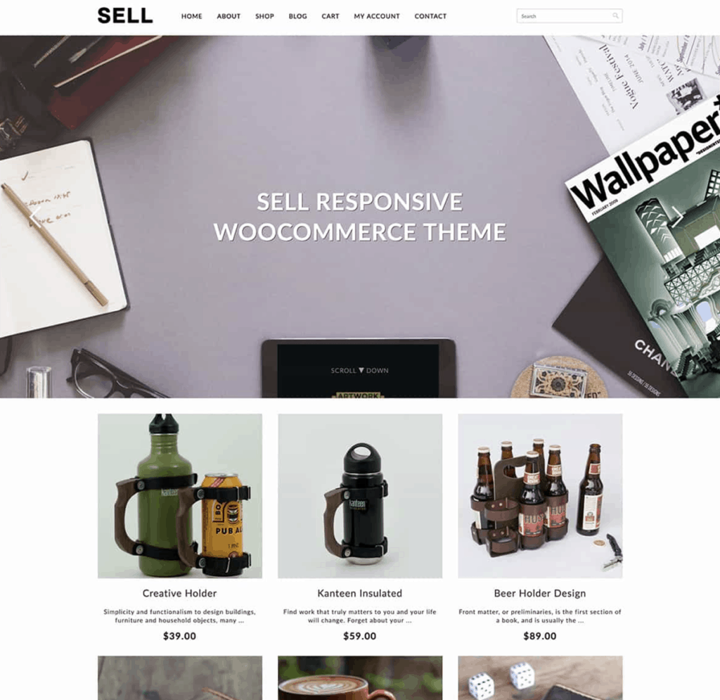 sell woocommerce theme