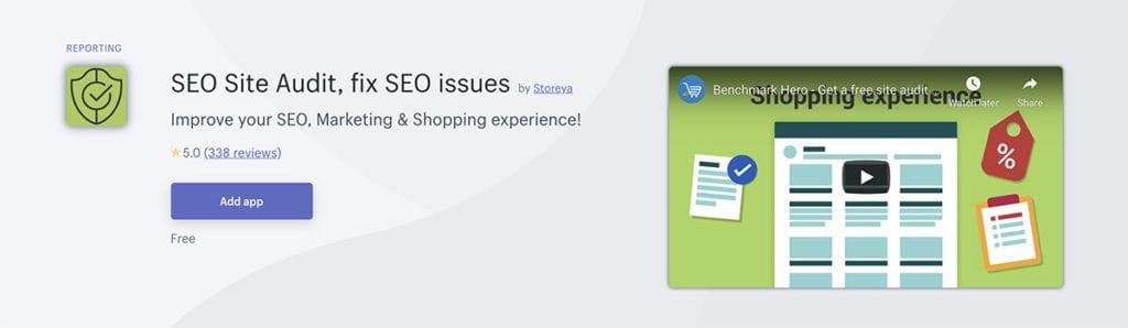 SEO Site Audit, fix SEO issues