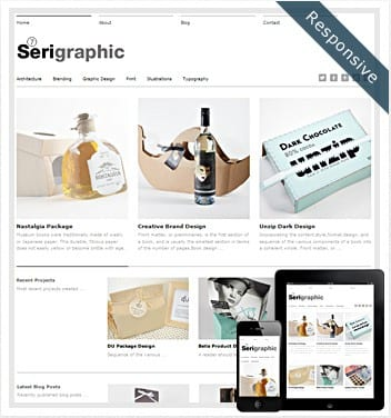 premium wordpress templates - serigraphic-theme