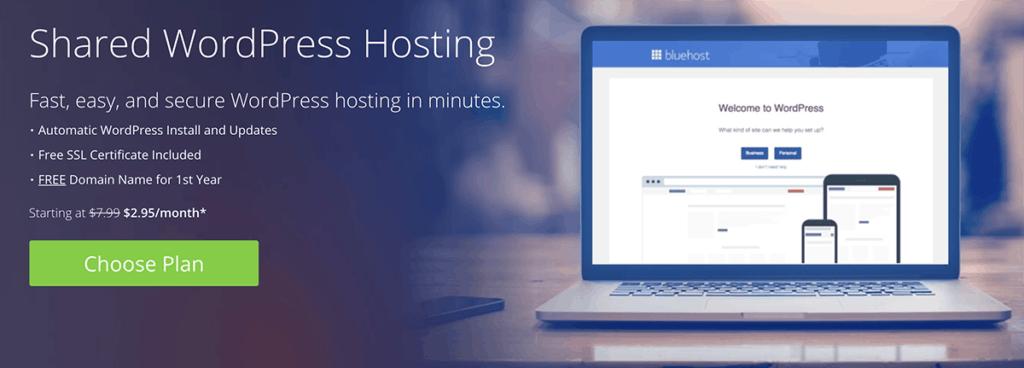 Shared WordPress Hosting 2020