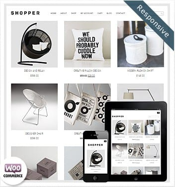Shopper WooCommerce Theme – FREE 2019