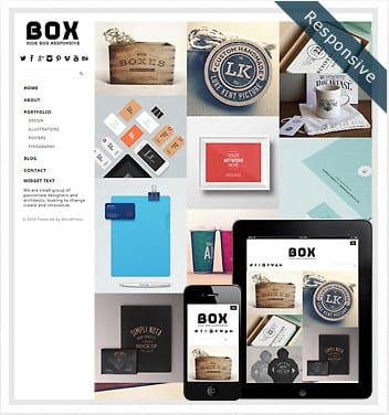 premium wordpress templates - side-box-theme