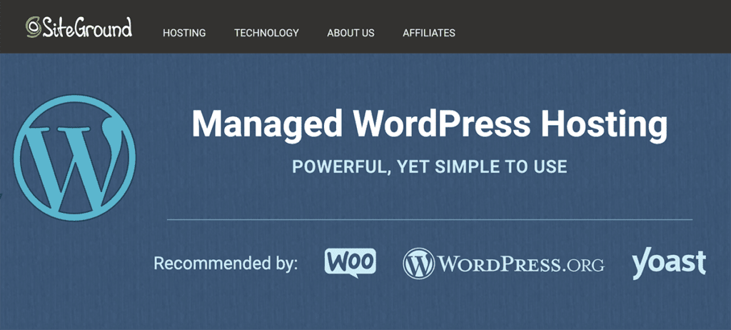 SiteGround Best Cheap WordPress Provider for 2020