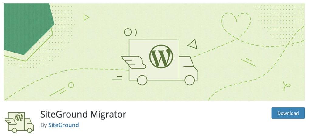 SiteGround Free Website Transfer Plugin