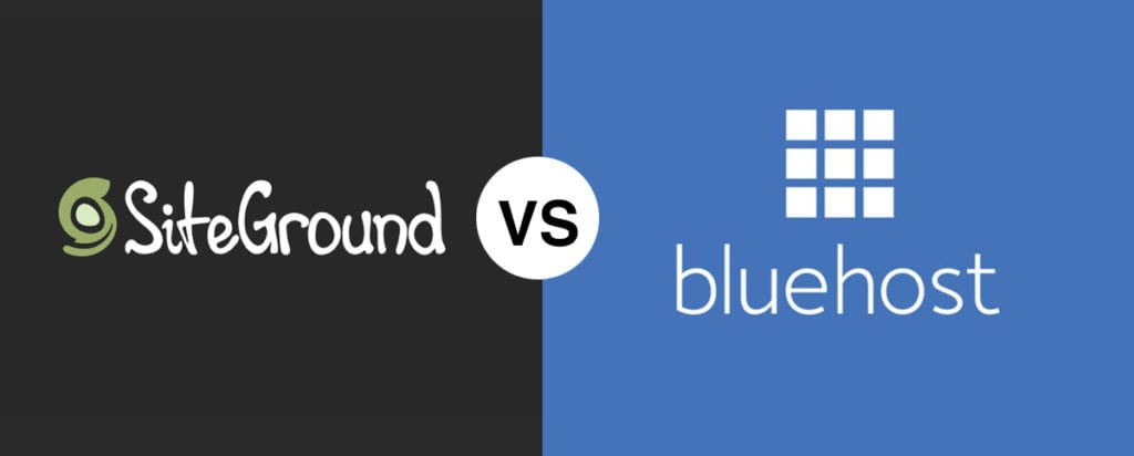 SiteGround vs Bluehost Comparison in 2020