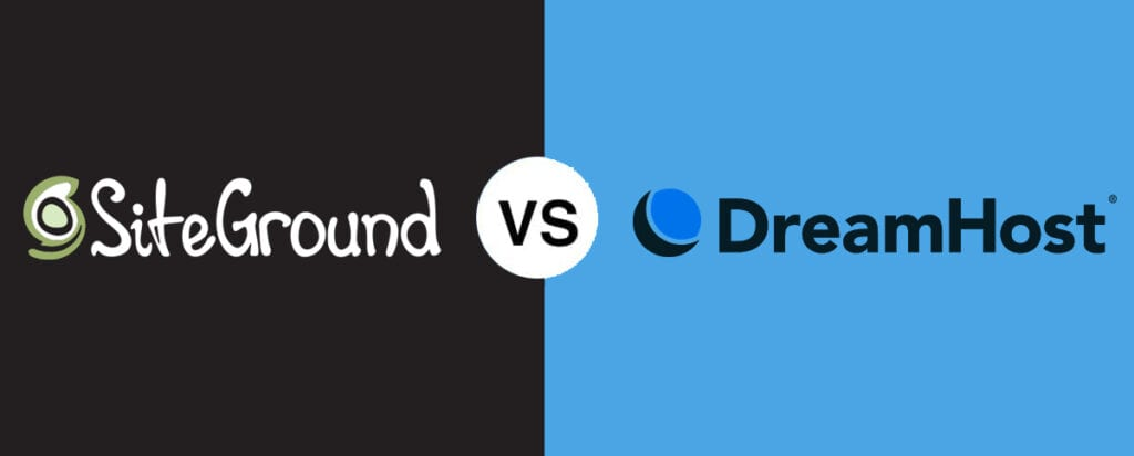 SiteGround vs DreamHost Comparison – Who's the Best WordPress Hosting? 2021