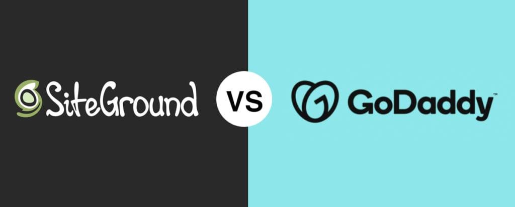SiteGround vs GoDaddy Comparison 2020