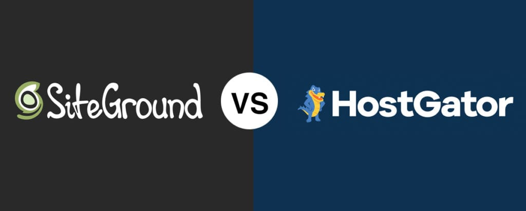 SiteGround vs HostGator (2020 Comparison) Who's the Best Hosting Provider?