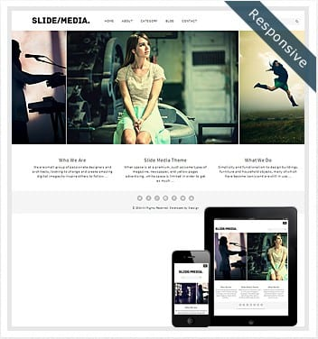 premium wordpress templates - slide-media-theme-responsive