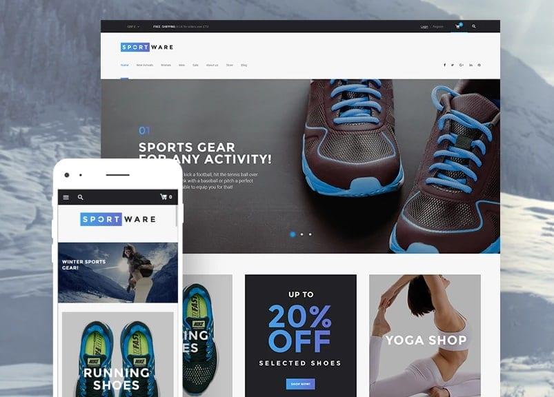 sportware ecommerce