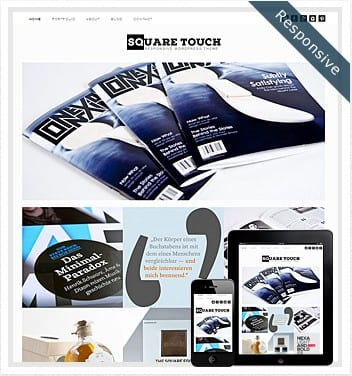 premium wordpress templates - square-touch-theme