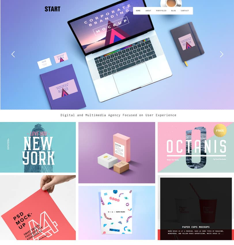 20 best wordpress themes for graphic designers 2018 dessign