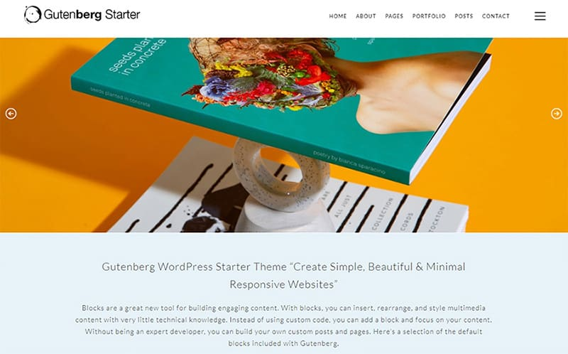 5+ Best Simple Gutenberg WordPress Themes -2020