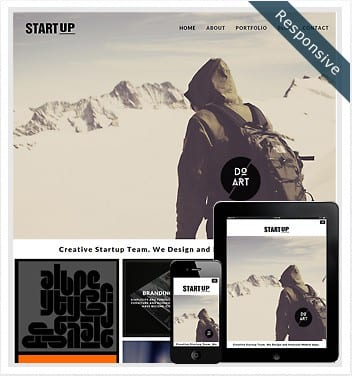 premium wordpress templates - startup-theme