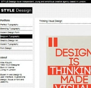 style dessign wp theme