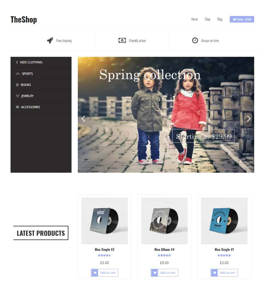 Top ecommerce templates for wordpress 2018 dessign themes the shop maxwellsz