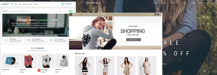 Top Ecommerce Templates for WordPress 2019