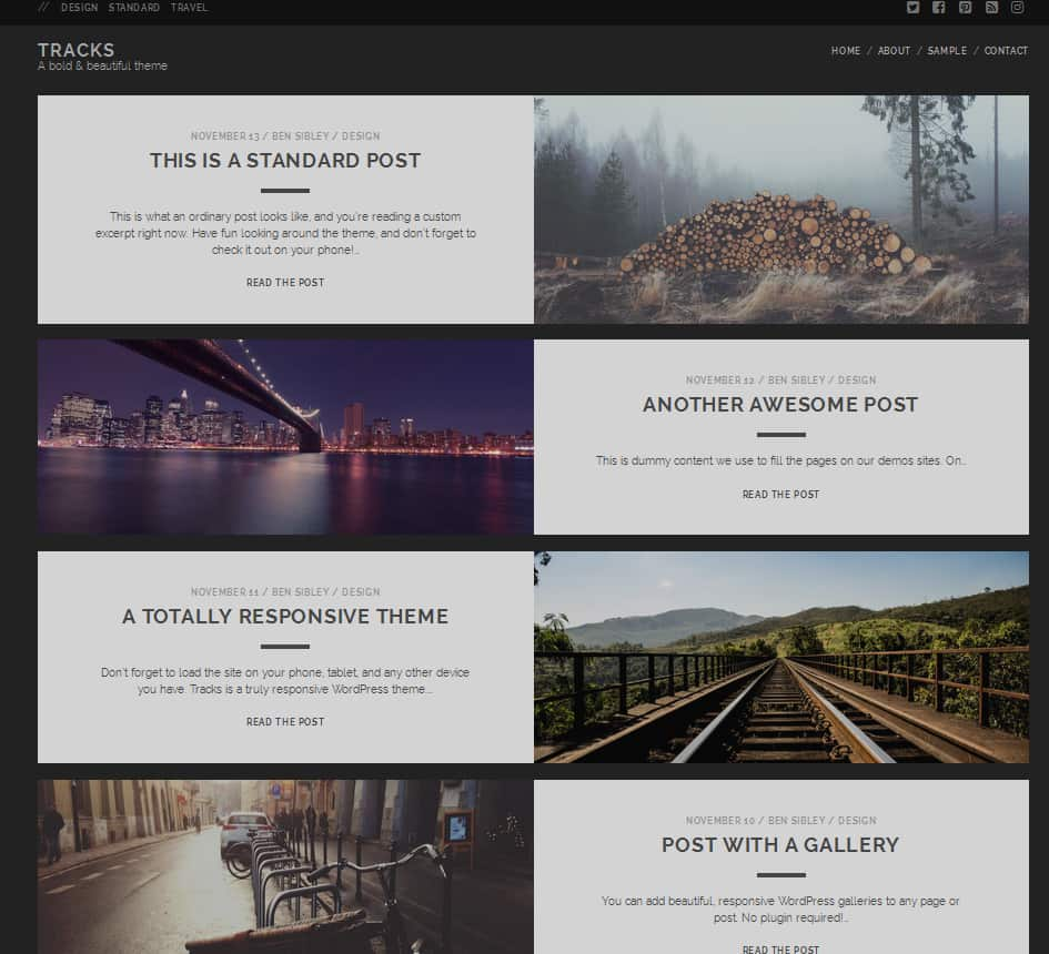 20+ Best Free Photography WordPress Themes 2018 - Dessign Themes