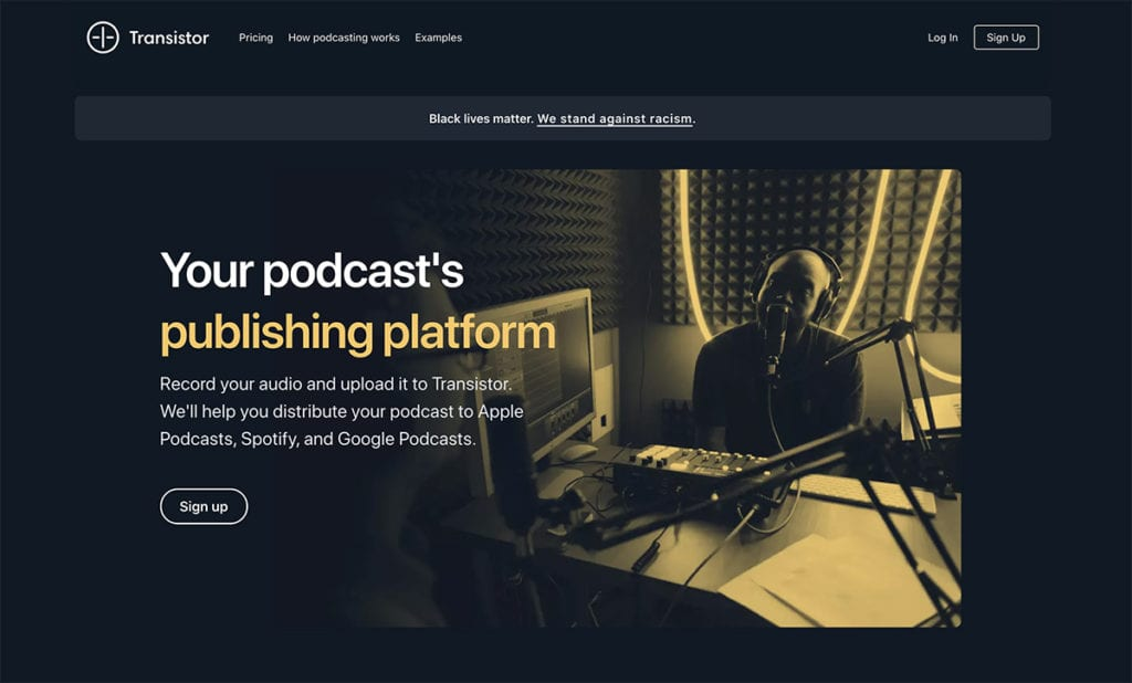 Transistor free podcast
