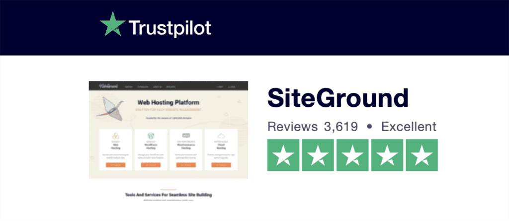 trustpilot siteground reviews 2020