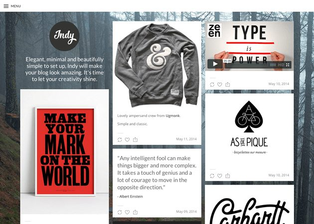12 Best Free Tumblr Themes + Templates 2021 – WordPress