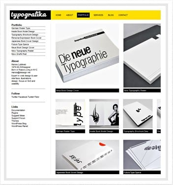 premium wordpress templates - typografika-theme