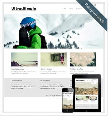 premium wordpress templates - ultrasimple-responsive-theme1