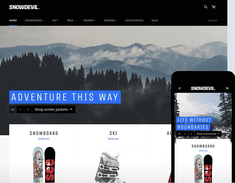 venture Free Shopify themes