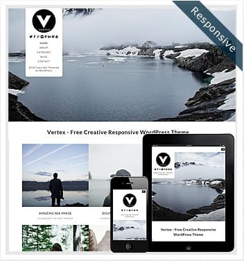 premium wordpress templates - vertex-theme