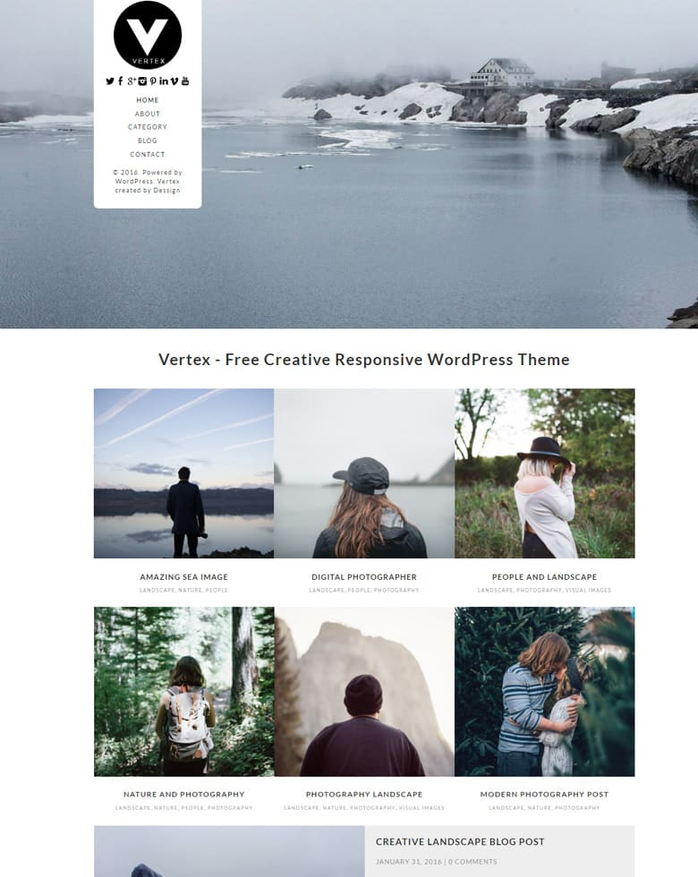 20+ Best Free WordPress Themes Responsive 2018 - Dessign Themes