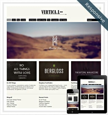 premium wordpress templates - vertical-theme-wordpress777