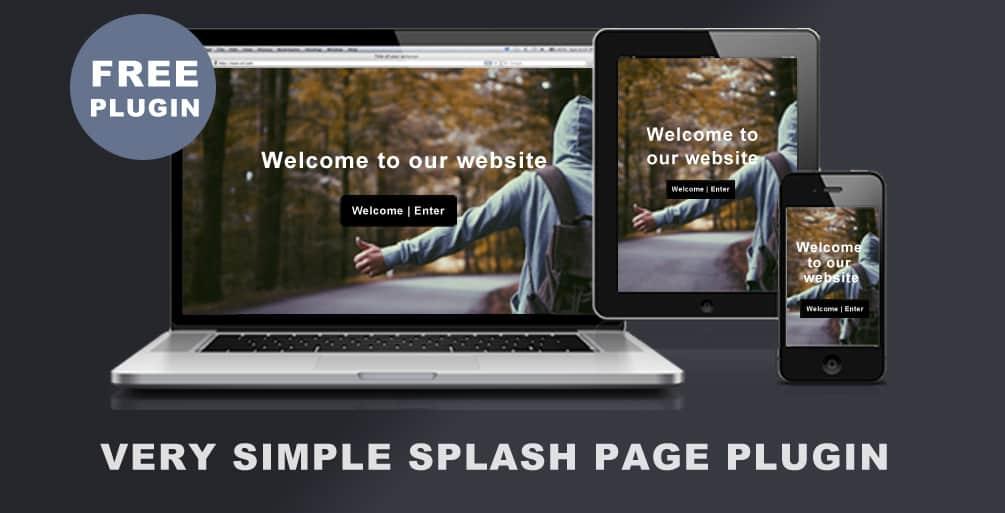 very-simple-splash-page-plugin