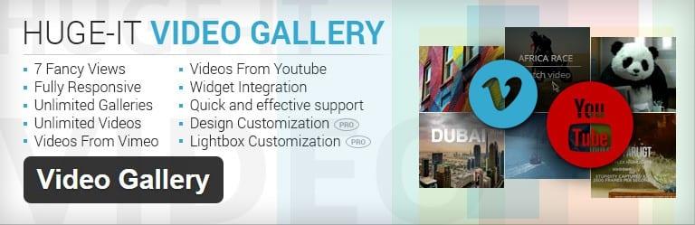 Video gallery v11. 00 wordpress plugin /w youtube, vimeo.