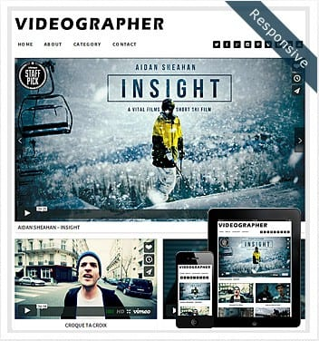 premium wordpress templates - videographer-theme