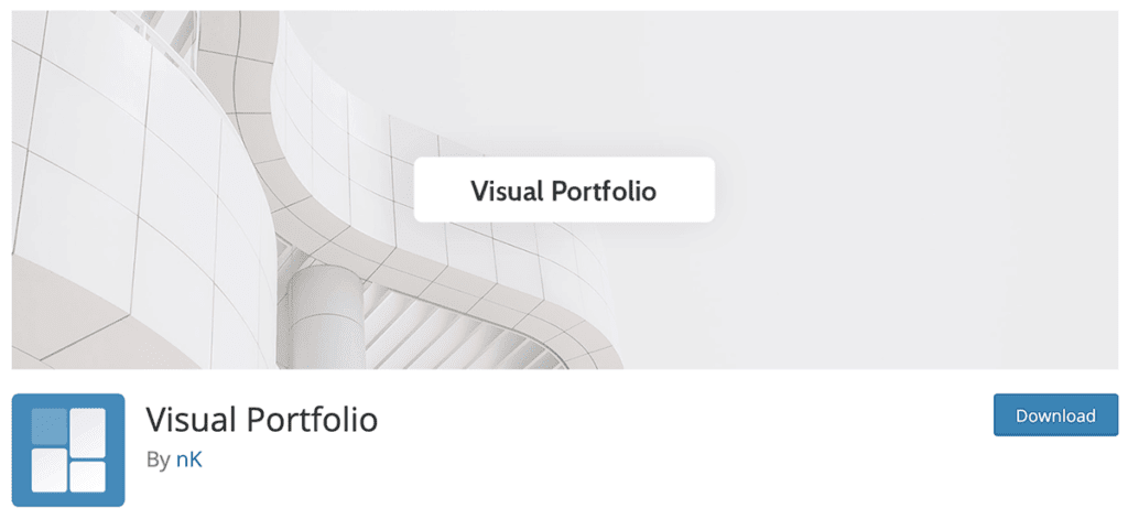 visual portfolio plugin free