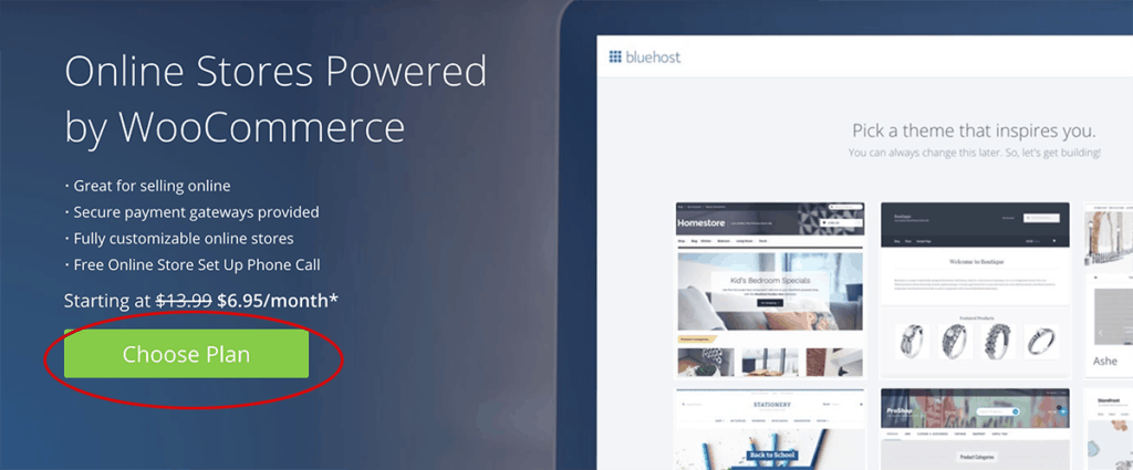 Bluehost WooCommerce Hosting Solution 2020