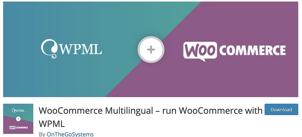 WooCommerce Multilingual – run WooCommerce with WPML free plugin