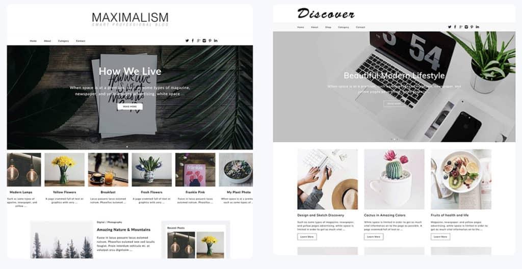 Dessign WordPress Blog themes 2020