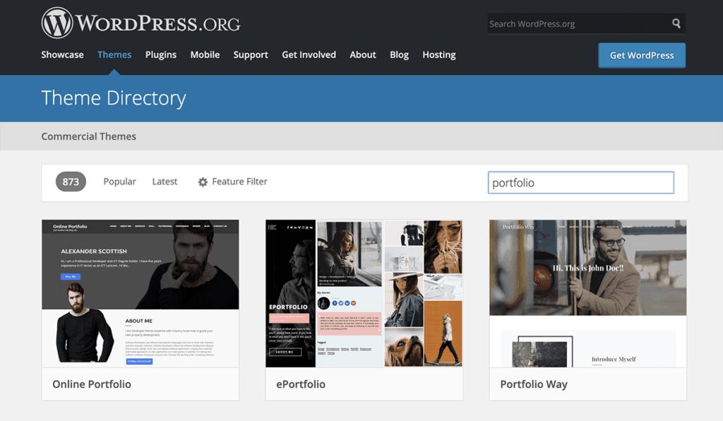 WordPress.org Portfolio Directory