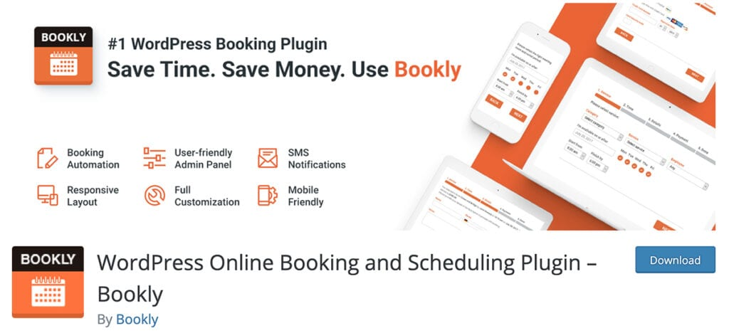 WordPress Online Booking and Scheduling Plugin – Bookly