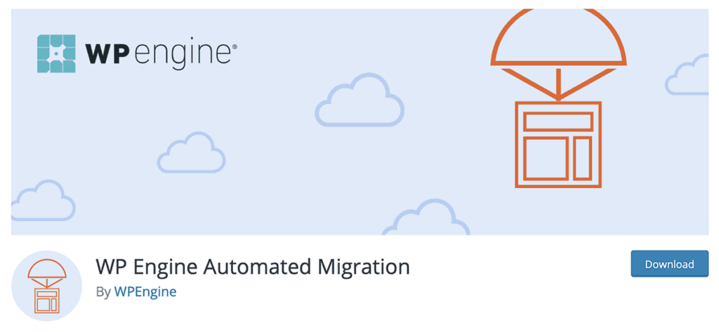 WP Engine Automated Migration Plugin