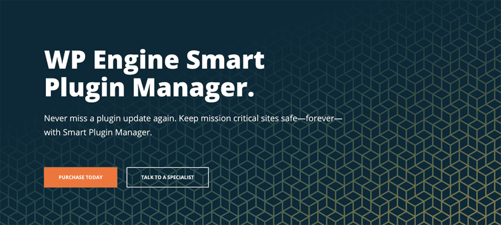 WP Engine Smart Plugin manager 2020