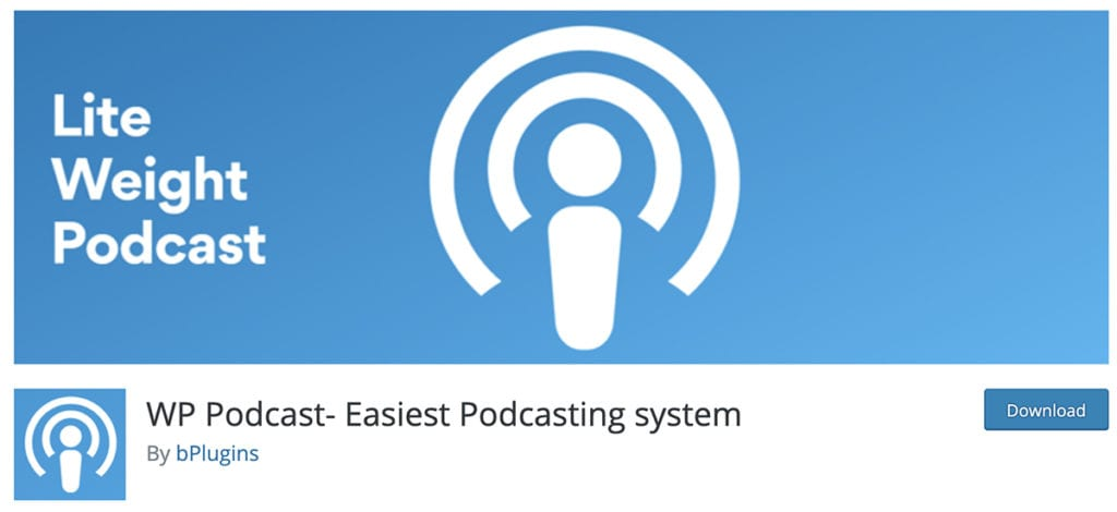 WP Podcast- Easiest Podcasting system
