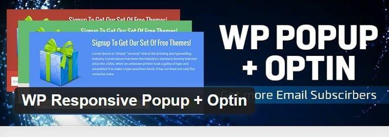 WP Responsive Popup + Optin